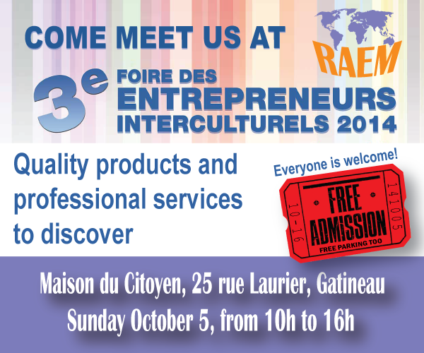 Come to RAEM: Entrepreneural fair