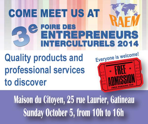 Come to RAEM: Entrepreneural fair